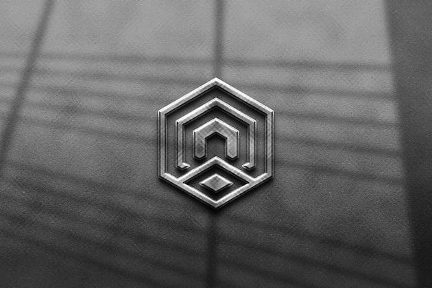 Maquete do logotipo 3d para empresas