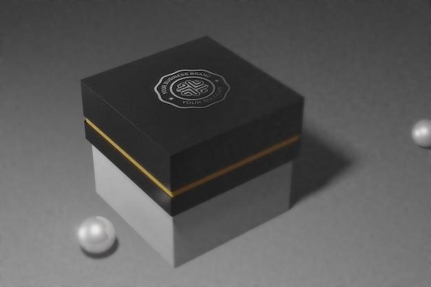 Maquete do logotipo da caixa