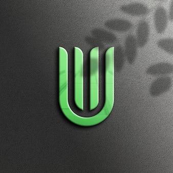 Maquete do logotipo da nature