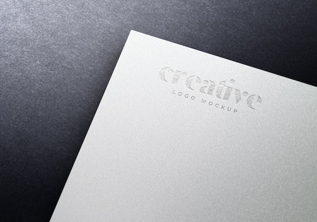 Maquete do logotipo do white paper