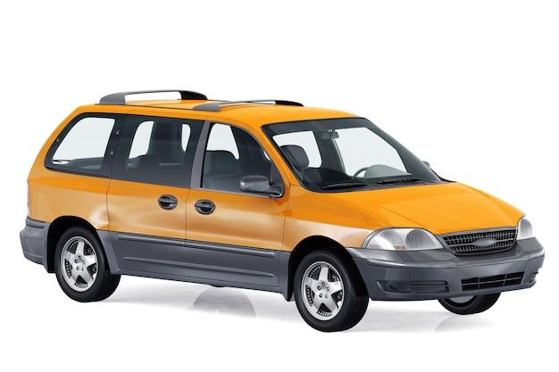Maquete do mpv multi purpose vehicle 2000