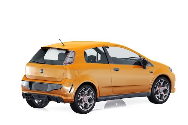 Maquete do pequeno carro urbano 2011