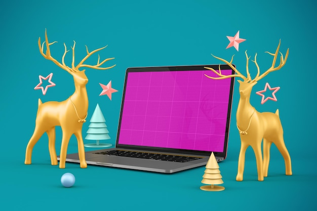 Maquete do site de natal