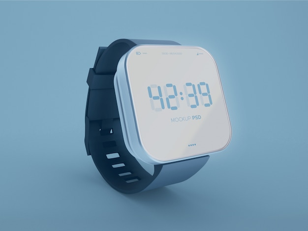 Maquete do smartwatch Psd Premium