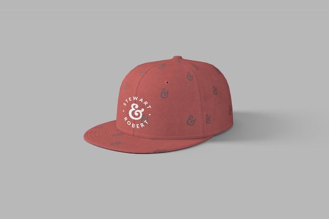 Maquete do snapback full cap