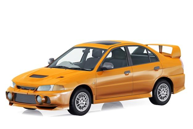Maquete do super carro 1997