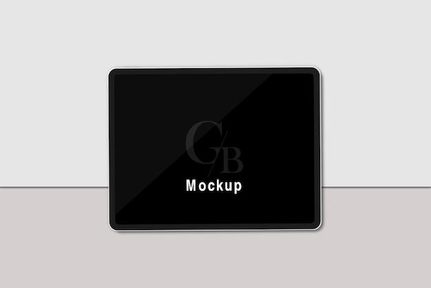 Maquete do tablet digital