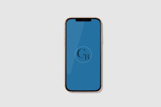 Maquete do telefone inteligente