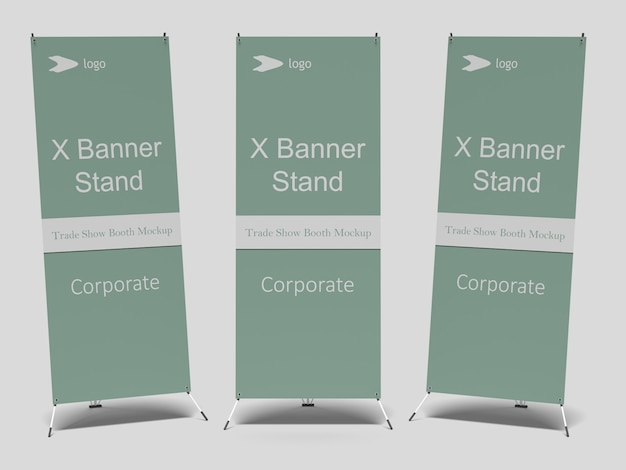 Maquete do x-banner