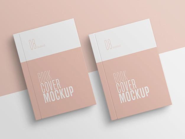 Maquete dupla da capa do livro