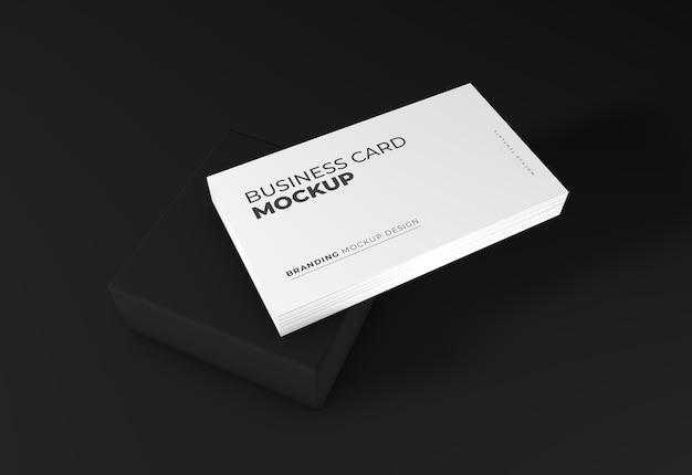 Maquete elegante de cartão de visita