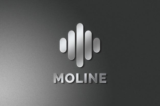Maquete minimalista do logotipo da empresa