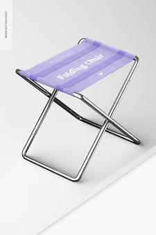 Maquete para cadeira dobrável