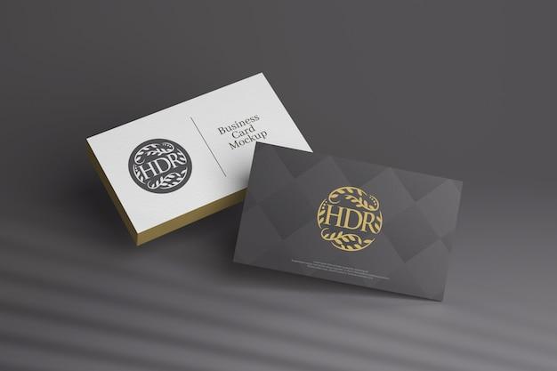 Maquete para diferentes cartões de visita