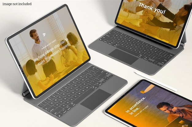 Maquete pro tablet