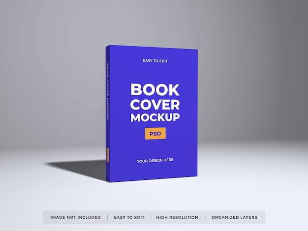 Maquete realista de capa de livro