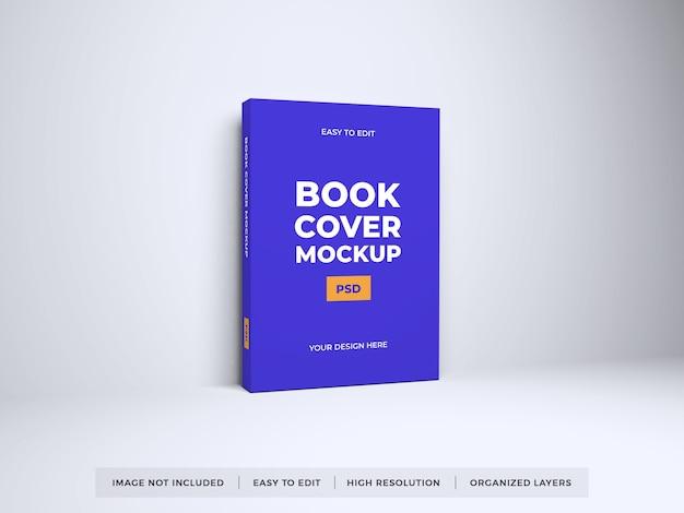 Maquete realista de capa de livro Psd Premium