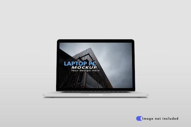 Maquete realista de laptop premium psd
