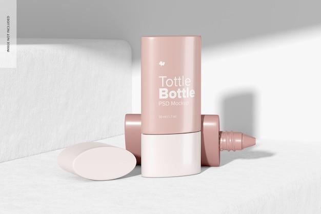 Maquete tottle bottles