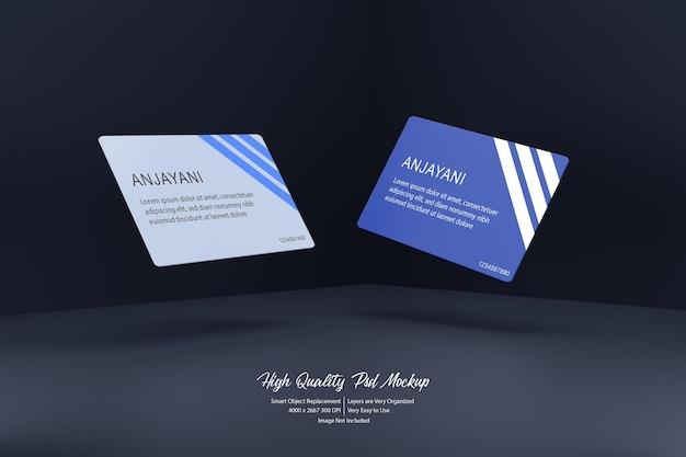 Maquete voadora de cartão