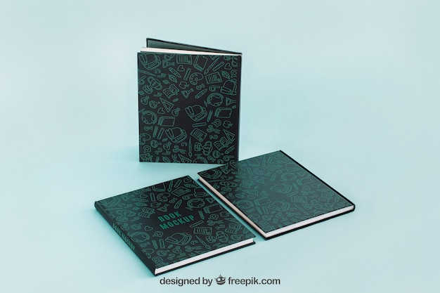 Maquetes de capa de livro