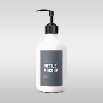 Maquetes de frascos de cosméticos