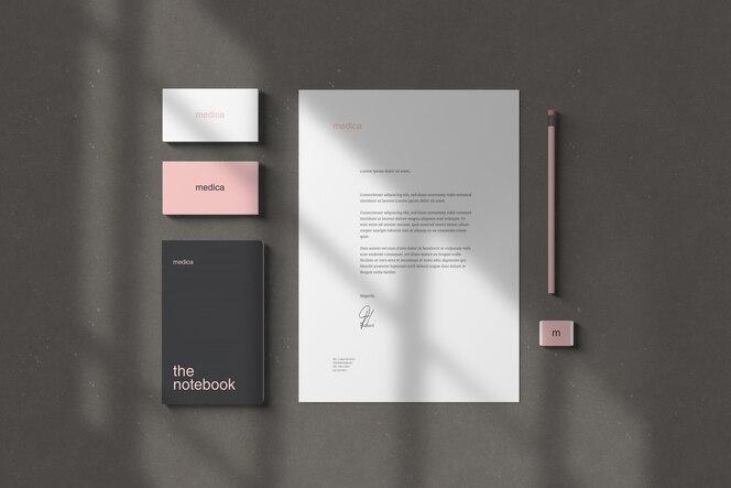 Maquetes de marca / papelaria