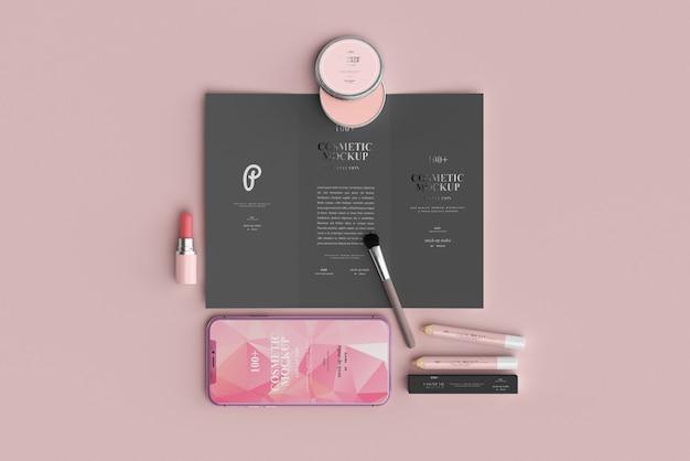 Maquetes de porduct cosmético