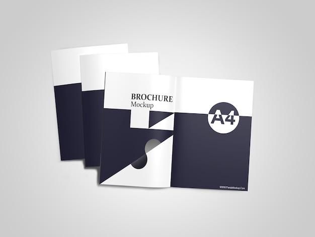 Maquetes do catálogo a4