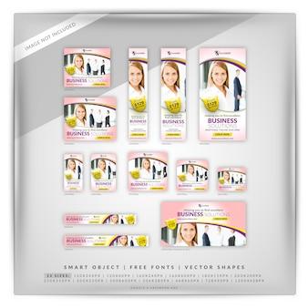 Marketing pink google e anúncios do facebook