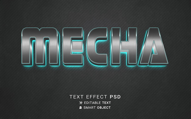 Mecha de efeito de texto