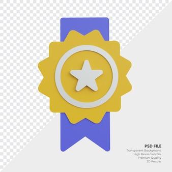 Medalha do campeonato estrela