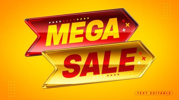 Mega venda 3d acrílico caixa de flechas