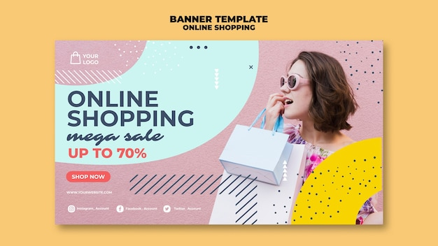 Mega venda de compras online