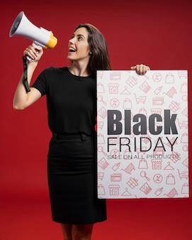 Mega vendas disponíveis na sexta-feira negra
