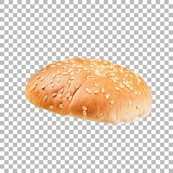 Meio pão fresco isolado