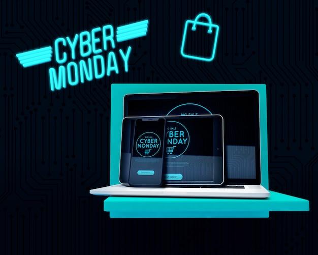 Melhor oferta de produtos eletrônicos em cyber segunda-feira