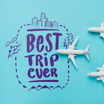 Melhor viagem de sempre, letras sobre viagens