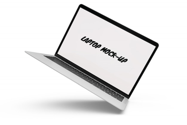 Mock-up de laptop isolado