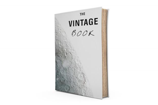 Mock-up de livro vintage