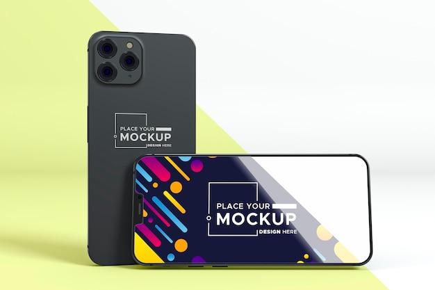 Mock-up de novos telefones