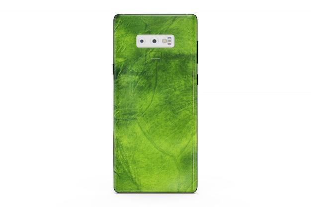 Mock-up de pele de smartphone isolado