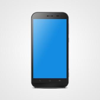Mock up design do telefone móvel