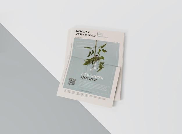 Mock-up para jornal