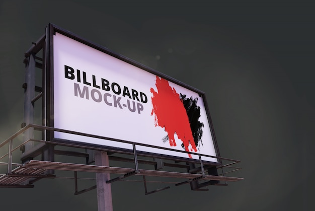 Mockboard de outdoor