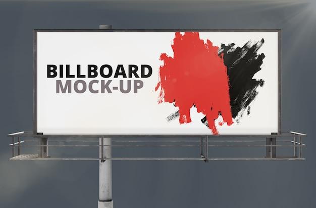 Mockboard de outdoor