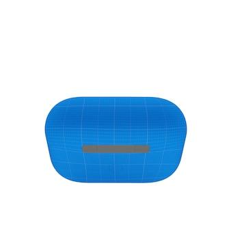 Mockup da caixa do fone de ouvido