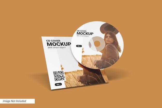 Mockup da capa do cd