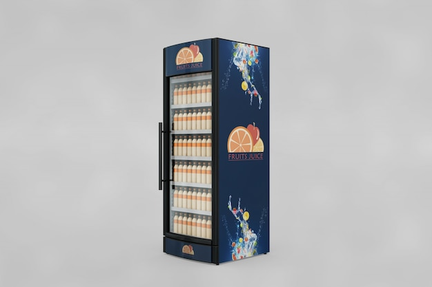 Mockup da máquina de venda automática