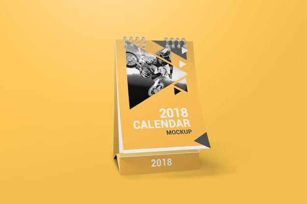 Mockup de calendário criativo